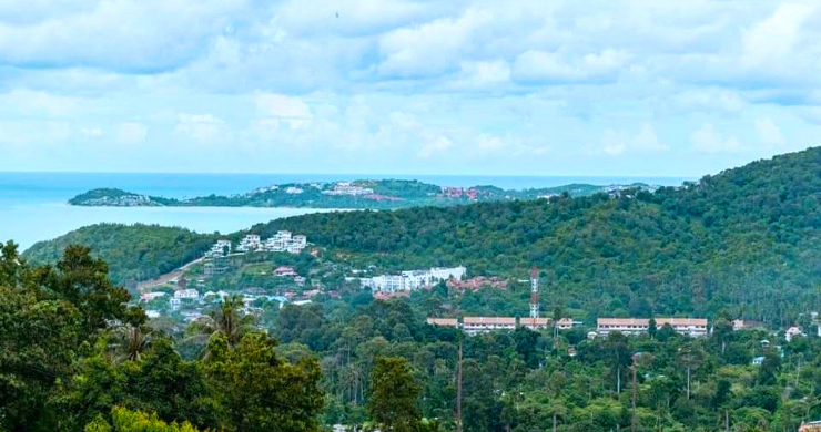 Affordable Sea-view Land for sale in Bophut Hills-2