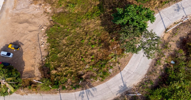 Affordable Sea-view Land for sale in Bophut Hills-4