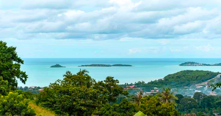 Affordable Sea-view Land for sale in Bophut Hills-1