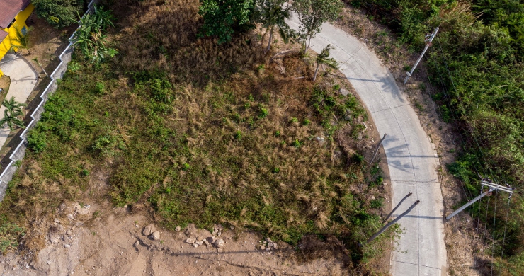 Affordable Sea-view Land for sale in Bophut Hills-5