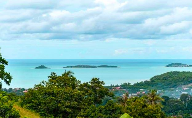 Affordable Sea-view Land for sale in Bophut Hills