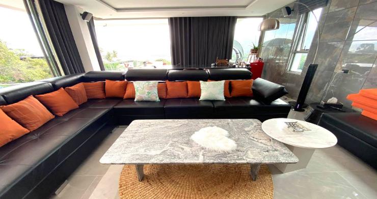 Elegant 5 Bedroom Luxury Sea-view Villa in Bangrak-6