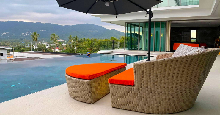 Elegant 5 Bedroom Luxury Sea-view Villa in Bangrak-12