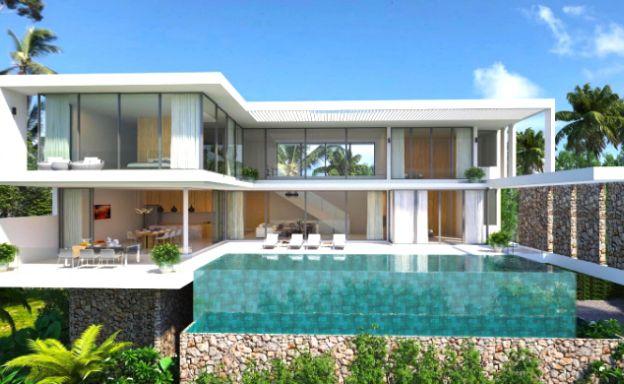 Elegant 5 Bedroom Luxury Sea-view Villa in Bangrak
