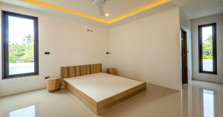 New Modern 4 Bed Pool Villa in Peaceful Maenam-7