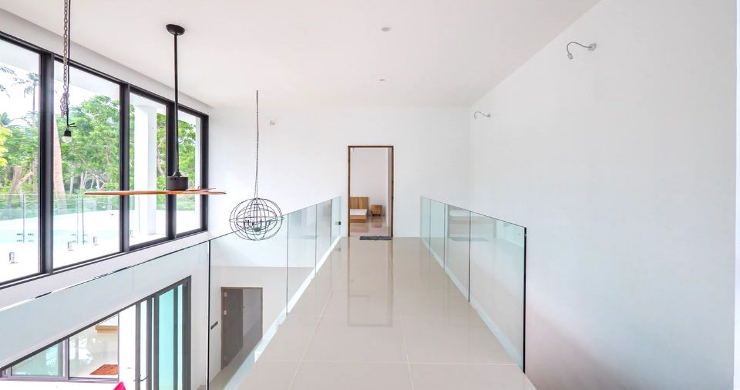 New Modern 4 Bed Pool Villa in Peaceful Maenam-12