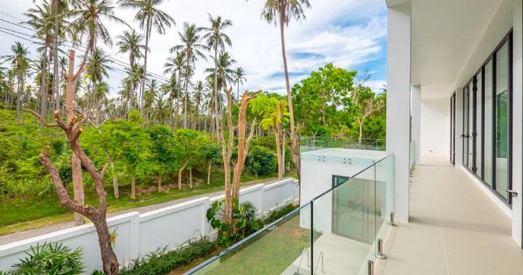 New Modern 4 Bed Pool Villa in Peaceful Maenam-9