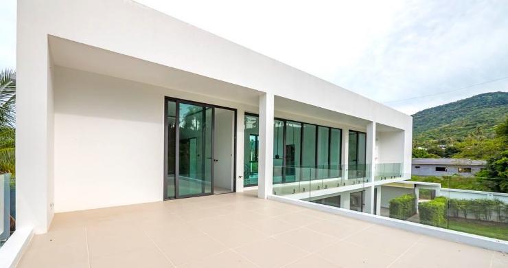 New Modern 4 Bed Pool Villa in Peaceful Maenam-15