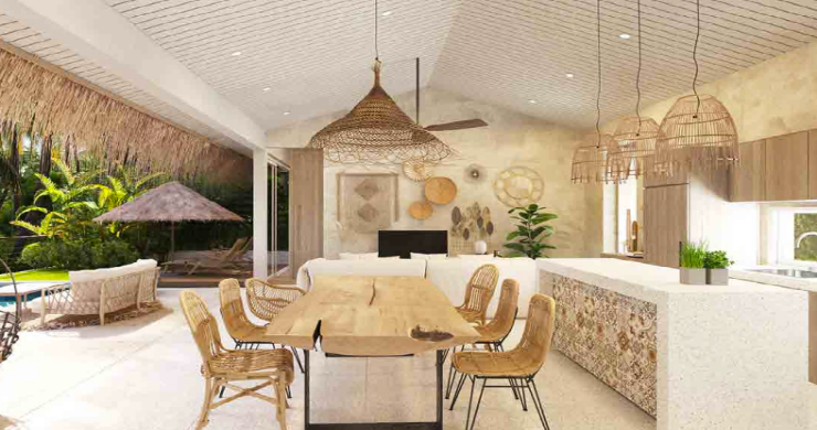 Unique Luxury 2 Bed Sea-view Villas in Bangpor Hills-3