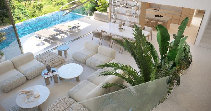New Luxury 4 Bed Sea-view Villas in Bophut Hills-4