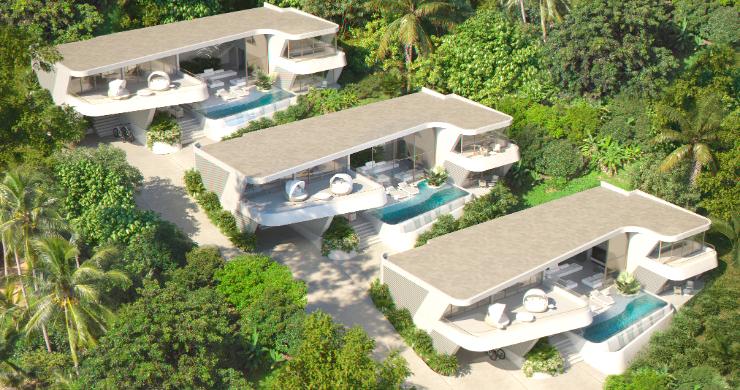 New Luxury 4 Bed Sea-view Villas in Bophut Hills-11