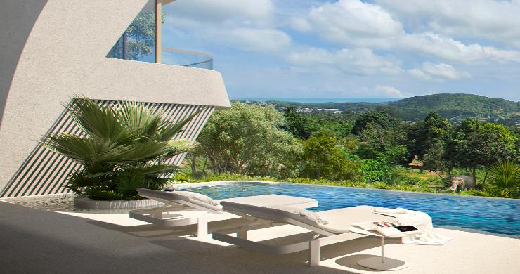 New Luxury 4 Bed Sea-view Villas in Bophut Hills-9