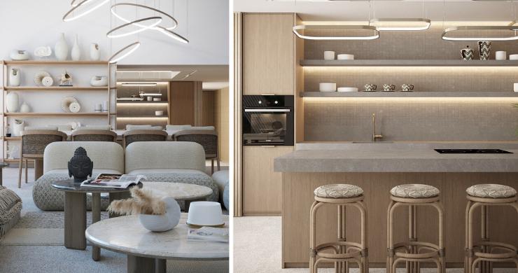 New Luxury 4 Bed Sea-view Villas in Bophut Hills-7