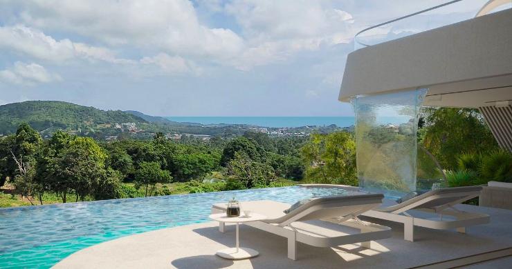 New Luxury 4 Bed Sea-view Villas in Bophut Hills-8