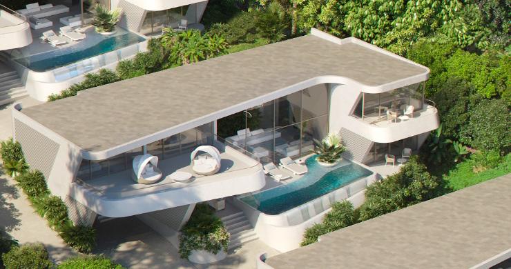 New Luxury 4 Bed Sea-view Villas in Bophut Hills-3
