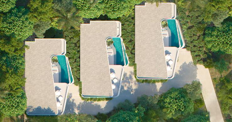 New Luxury 4 Bed Sea-view Villas in Bophut Hills-12