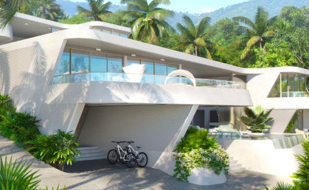 New Luxury 4 Bed Sea-view Villas in Bophut Hills