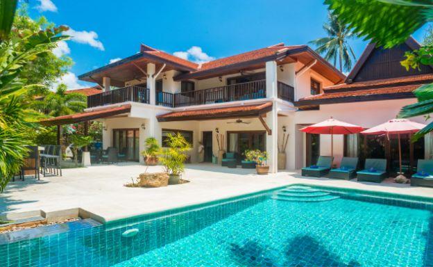 Charming 4 Bedroom Beachside Villa in Hua Thanon
