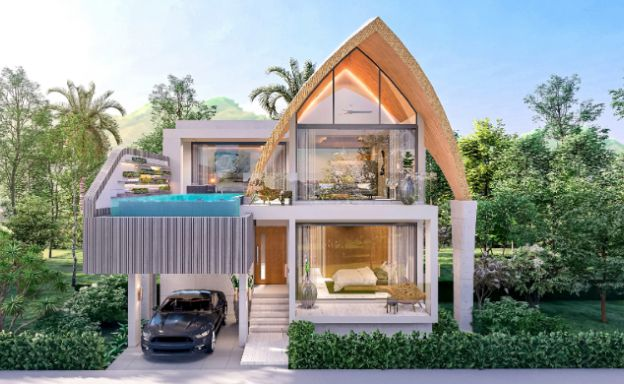 Stylish 3 Bed Luxury Sea View Villas in Bangpor