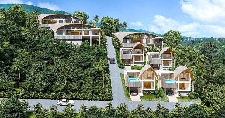 Unique 3 Bed Sea View Villas for Sale in Bangpor-9
