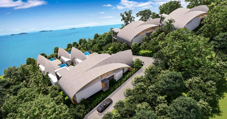 Unique 3 Bed Sea View Villas for Sale in Bangpor-6
