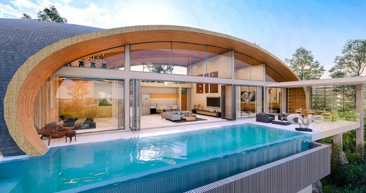 Unique 3 Bed Sea View Villas for Sale in Bangpor-1