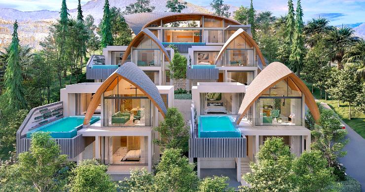 Unique 3 Bed Sea View Villas for Sale in Bangpor-5