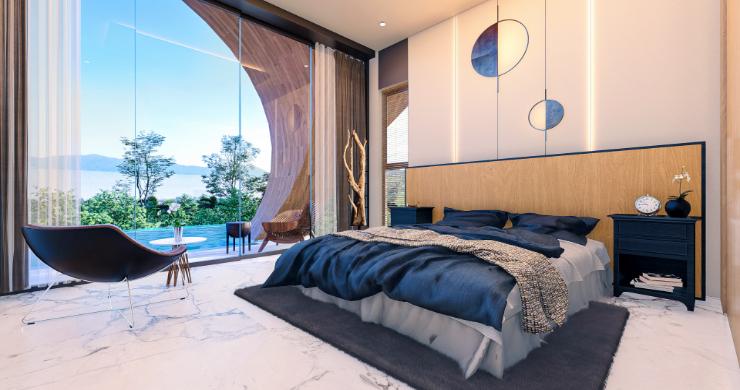 Unique 3 Bed Sea View Villas for Sale in Bangpor-4