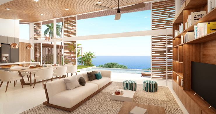 Stunning 4 Bed Luxury Ocean View Villa in Bangpor-4