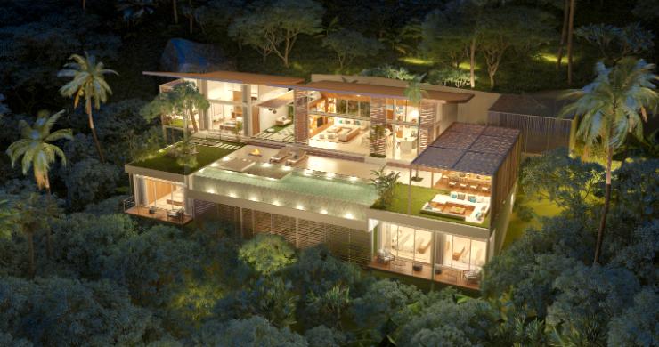 Stunning 4 Bed Luxury Ocean View Villa in Bangpor-13