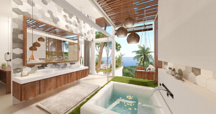 Stunning 4 Bed Luxury Ocean View Villa in Bangpor-9