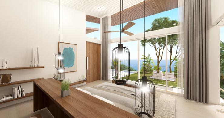 Stunning 4 Bed Luxury Ocean View Villa in Bangpor-7