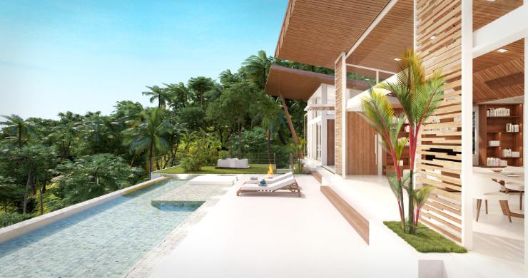 Stunning 4 Bed Luxury Ocean View Villa in Bangpor-3