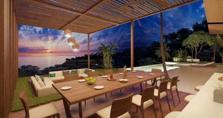 Stunning 4 Bed Luxury Ocean View Villa in Bangpor-12