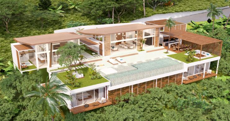 Stunning 4 Bed Luxury Ocean View Villa in Bangpor-1