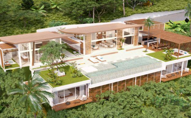 Stunning 4 Bed Luxury Ocean View Villa in Bangpor