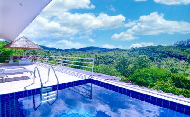 Tropical 3 Bedroom Sea View Villa in Koh Phangan