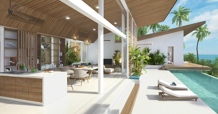 Contemporary Luxury 3 Bed Sea View Villa in Bangpor-14