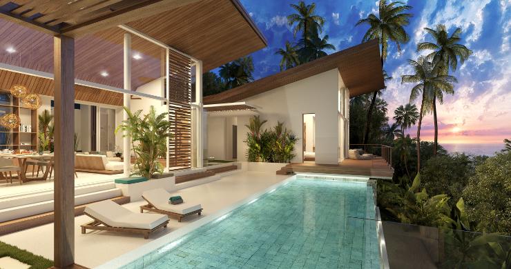 Contemporary Luxury 3 Bed Sea View Villa in Bangpor-13