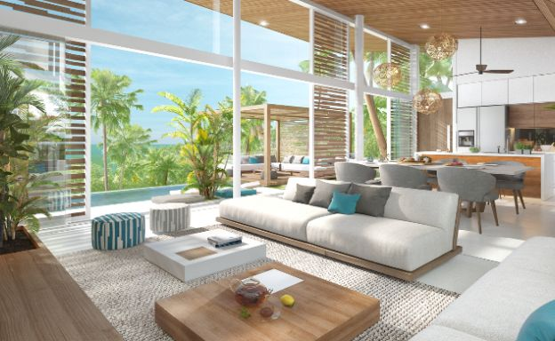 Contemporary Luxury 3 Bed Sea View Villa in Bangpor