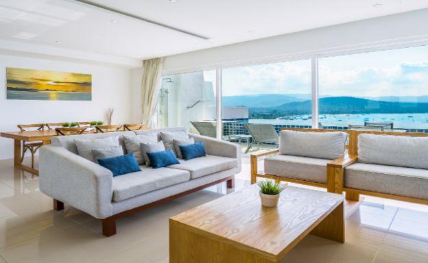 Unique Design 2 Bed Sunset View Villa in Big Buddha