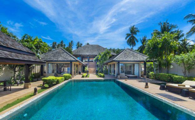 Elegant 5 Bedroom Beachfront Villa in Thong Krut