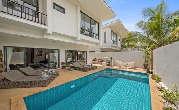 Modern 3 Bedroom Pool Villas by Plai Laem Beach