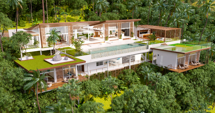 Stunning 6 Bed Luxury Villa for Sale in Bangpor-5
