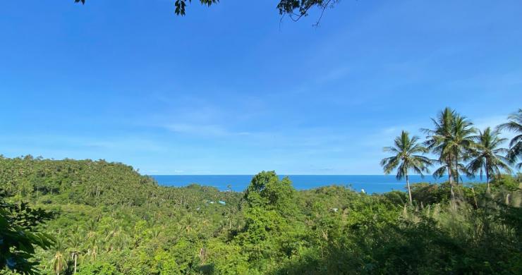 New Eco Chic 4 Bedroom Sea View Villas in Lamai-17