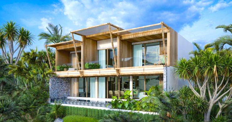 New Eco Chic 4 Bedroom Sea View Villas in Lamai-1