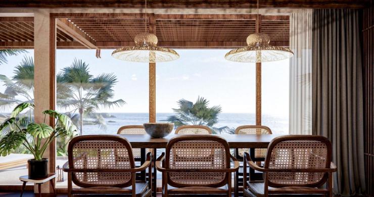 New Eco Chic 4 Bedroom Sea View Villas in Lamai-14