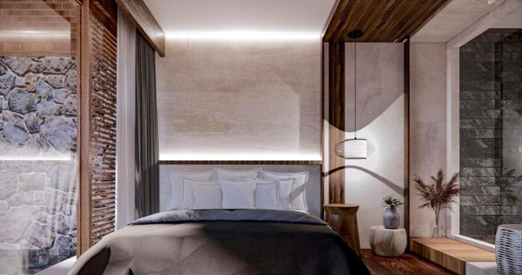 New Eco Chic 4 Bedroom Sea View Villas in Lamai-11