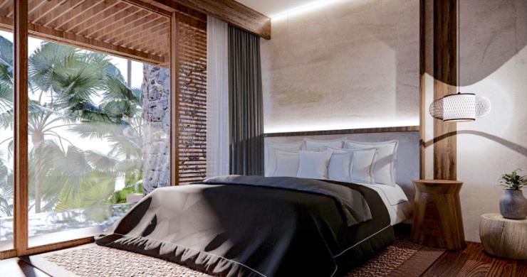 New Eco Chic 4 Bedroom Sea View Villas in Lamai-10