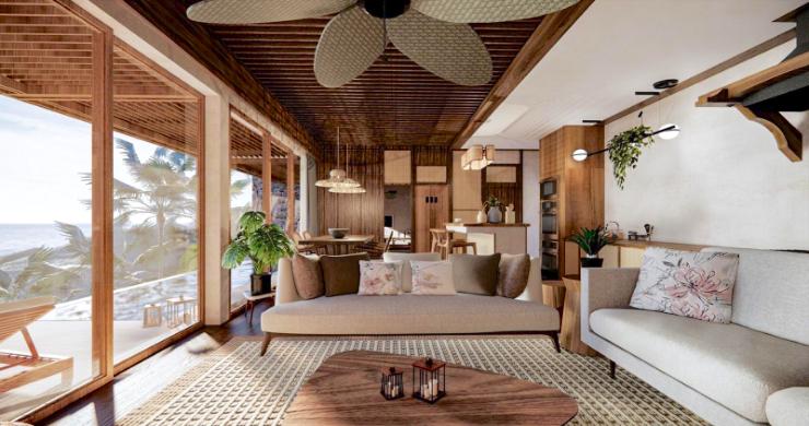 New Eco Chic 4 Bedroom Sea View Villas in Lamai-2